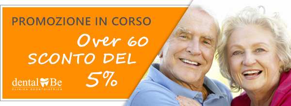dentalBe Over 60 sconto del 5%